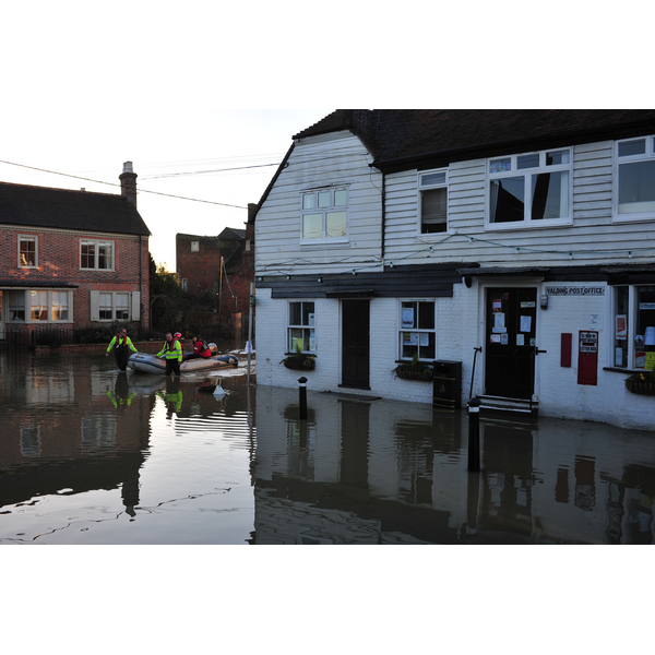 Yalding Floods taken by Brian Clark