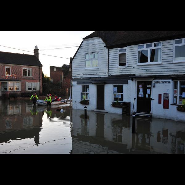 Yalding Floods taken by Brian Clark