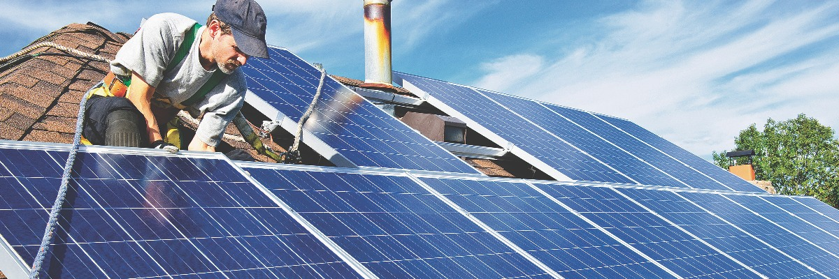 Fight climate change with solar panels
