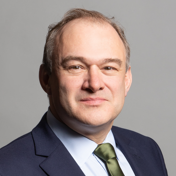 Ed Davey, photo taken by Richard Townsend (Richard Townshend, CC BY 3.0 <https://creativecommons.org/licenses/by/3.0>, via Wikimedia Commons)